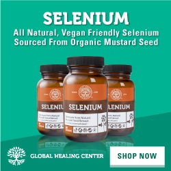Global Healing Center's Selenium supplement is plant-derived, highly bioavailable, and made from 100% organic materials to support your body naturally.