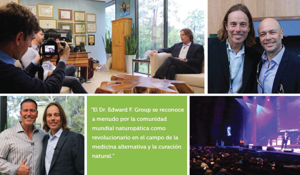 El Dr. Group es reconocido mundialmente como un revolucionario en el campo de la medicina naturopática.