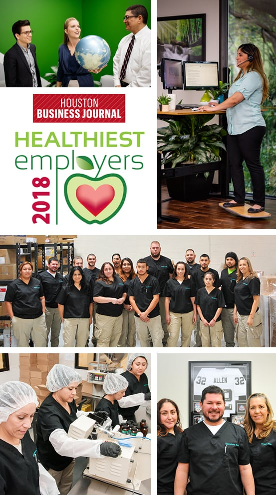Employees at Global Healing Center