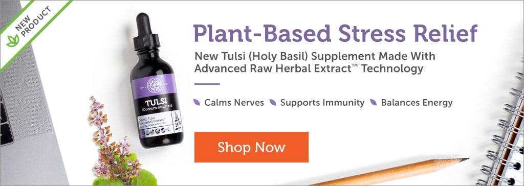 New Product: Tulsi - Holy Basil