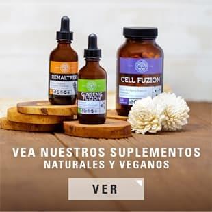 Compre Nuestros Suplementos Completamente Naturales y Para la Salud Vegana