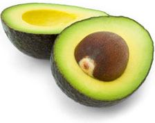 Avocados are high in folic acid