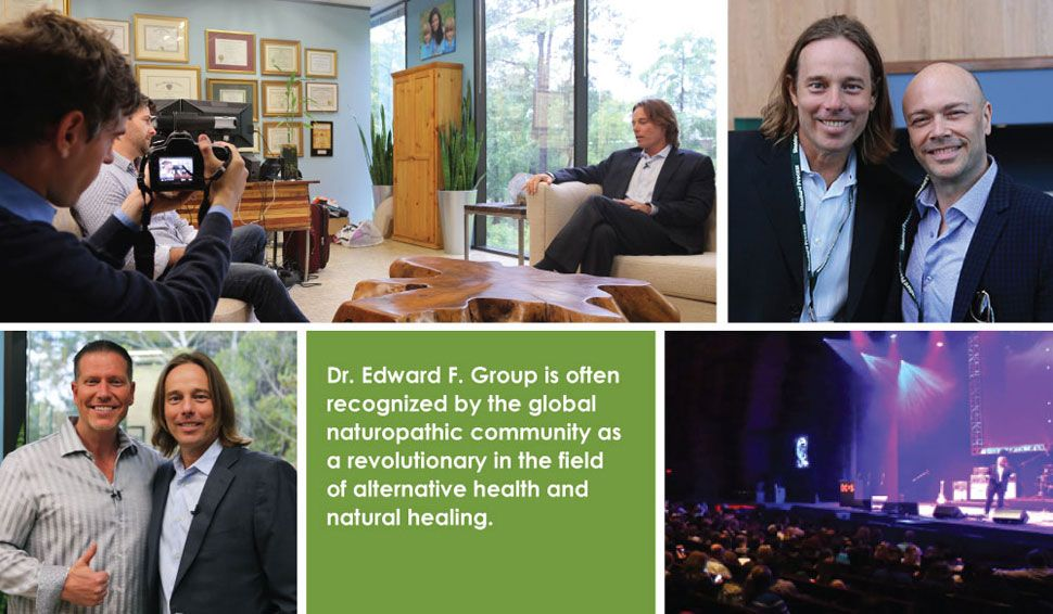 Dr. Group is recognized by the global naturopathic community as a revolutionary in the field.