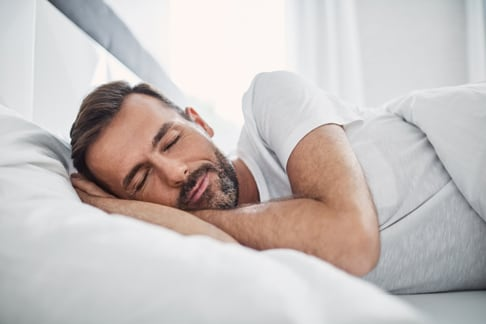 Man Enjoying sleep