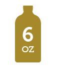 6 oz bottle icon