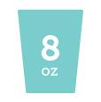 8 oz cup icon
