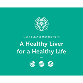 Liver Cleanse Program instructions booklet cover