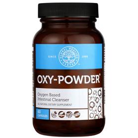 Oxy-Powder Colon Cleanse Supplement 60 capsules bottle
