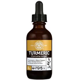 Liquid Turmeric Supplement 2 fl oz bottle