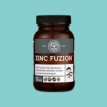 Zinc Fuzion bottled product