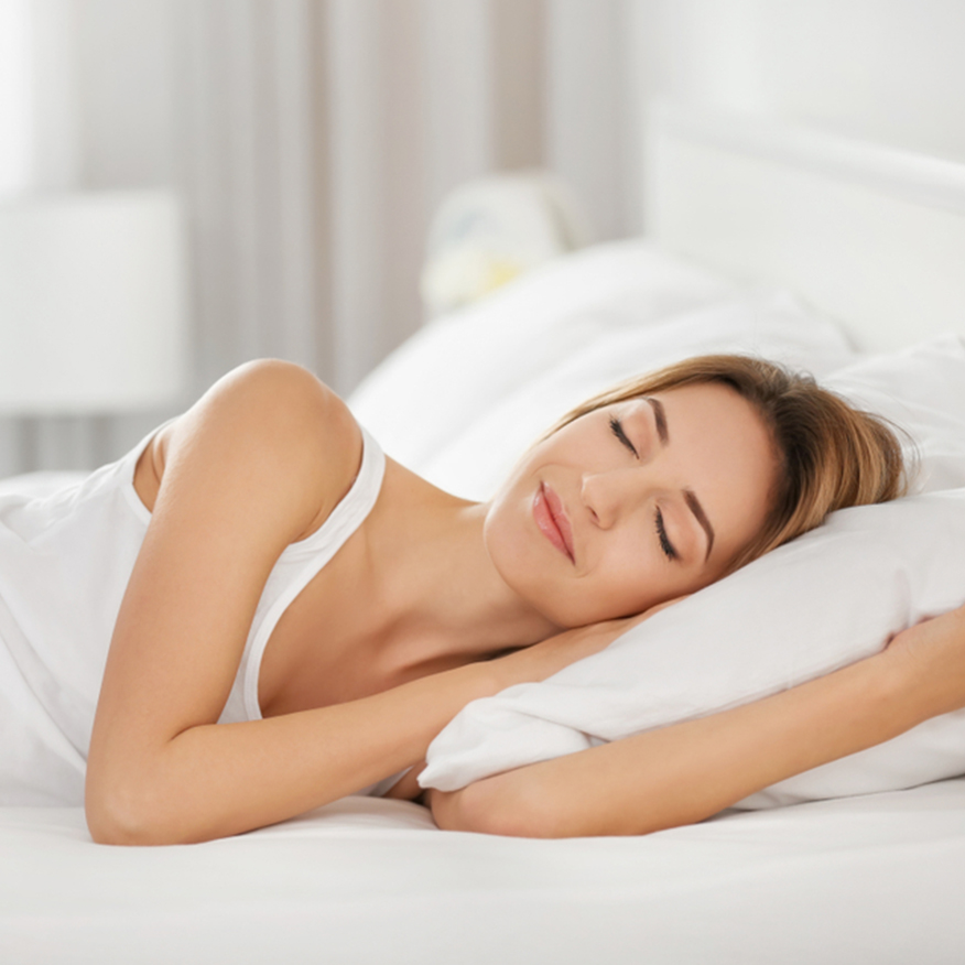 Detoxifies Your Body – Woman happily sleeping