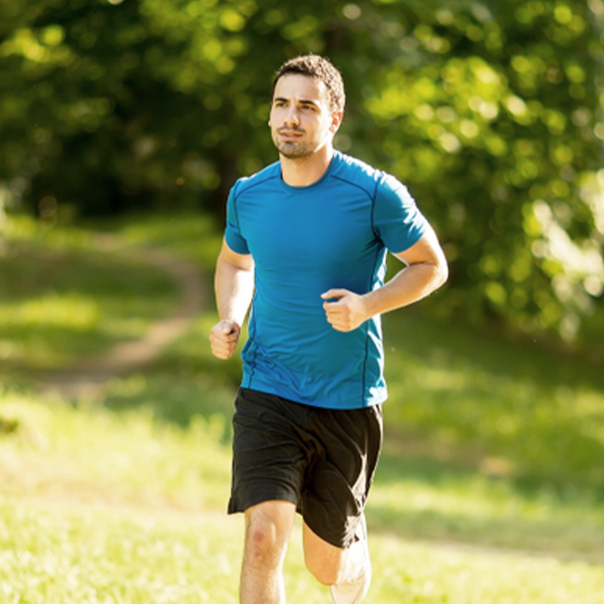 Highly Absorbable – Man jogging in the park
