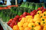 Vegetales en el Mercado