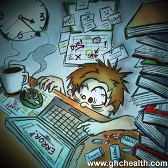 Dibujo de Estrés