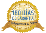 180 Días de Garantía - Satisfacción Garantizada