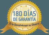180 Días de Garantía - Satisfacción Garantizada